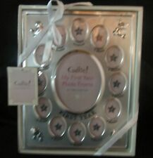 NIB Cudlie My First Year Photo Frame 13 Pictures One a Month