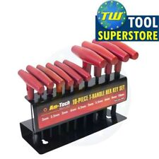 10x T Handle Hex Key Wrench Set with Stand Allen Metric 2mm to 10mm Hand Tool