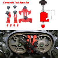 New 5Pce/Set Dual Cam Clamp Camshaft Engine Timing Locking Tool Sprocket Gear CN
