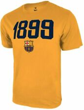 Icon Sports Men FC Barcelona Officially Licensed Soccer T-Shirt Cotton Tee -09