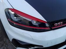 VW Golf mk7 2012 on, ABS plastic eyebrows headlight spoiler, eyelids  GTI GTD RS
