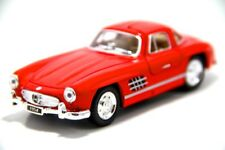 "New 5"" Kinsmart 1954 Mercedes Benz 300 SL Coupe Diecast Model Toy 1:36 Red"