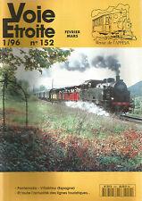VOIE ETROITE N°152 PONFERRADA-VILLABLINO (ESPAGNE) / LIGNES TOURISTIQUES