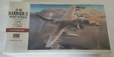 HASEGAWA 1:48 AV-8B HARRIER II NIGHT ATTACK # PT34:2800 USMC Attacker Aviation