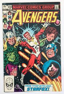 The Avengers #232 - Starfox Joins Avengers - Marvel Comics