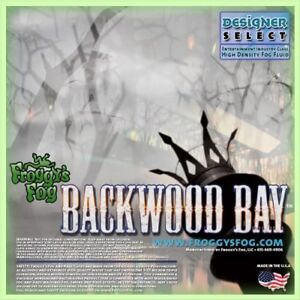 Froggy's Fog Backwood Bay Fog Juice (1 Litre) - Now Available In The UK