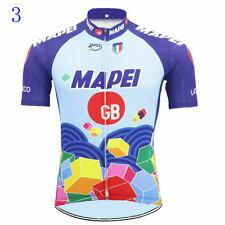 Retro 1993 Team Mapei Cycling Jersey Short Sleeve Gear Bike