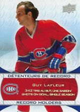 2008-09 Montreal Canadiens Centennial Record Holders Guy Lafleur #250