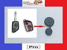 Double bouton membrane pour clé plip Peugeot 106, 206, 306, 405, 406 et partner