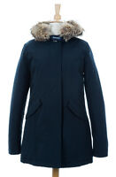 Woolrich John Rich & Bros. Women's Arctic Parka Navy Size Large WW1446