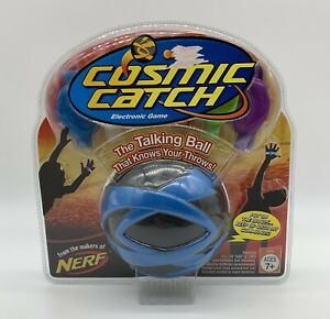 """NERF Cosmic Catch """"The Talking Ball"""" Electronic Game Blue Ball NEW  2006 NOS"""