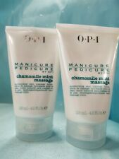 OPI MANICURE PEDICURE Chamomile Mint Massage LOTION Hydrating Hand Foot 4.2 oz
