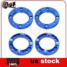 "4P 1"" 25mm Atv 4/156 3/8"" Blue Wheel Spacers fits 1987-2003 Kawasaki Mojave 250"