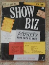 Show Biz Song Folio Variety from Vaude to Video Music Book 1953