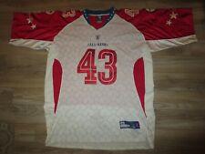 Troy Polamalu #43 Pittsburgh Steelers NFL Pro Bowl Reebok Jersey 60 3XL