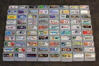 WHOLESALE LOT of 80 Nintendo Super Famicom Games SFC SNES Japan Import LOT #3