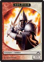 4 Soldier Token NM-Mint Gatecrash Red-White - mtg SPARROW MAGIC 4x x4