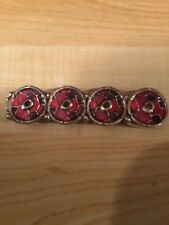 Vintage Red Fashion Elastic Bracelet