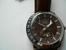 Fossil Automatic men's leather Dress watch.mechanical & automatic Analog.Me-3001