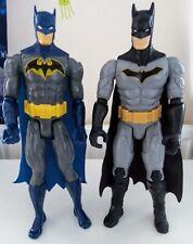 2 x BATMAN 12 INCH ACTION DC FIGURES BUNDLE MATTEL