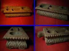Ancien plumier ou support pour encrier , Rajasthan  , Inde