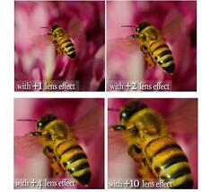 4Pcs Vivitar Close Up Macro Lens Set (+1+2+4+10) For Sony SAL-30M28 30mm Lens