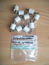 10x Isolierstützer M5x14, zylindrisch,beidseitiges Außengewinde *Distanzbolzen*