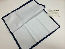"Blitz Jewelry Rouge Cloth / Polishing Cloth 11"" x 14"" Blue and White Color Piece"