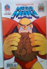 MEGA MAN #2 Villain Variant Cover