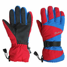 Mens Windproof  -32℃ Motorcycle Winter Ski Skiing Snowboard Outdoor Warm Gloves