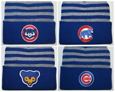 Chicago Cubs Beanie ~SKULL CAP ~HAT ~CLASSIC MLB PATCH/LOGO ~4 Cool Styles ~NEW