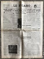 N100 La Une Du Journal Le Figaro 7 Mai 1947