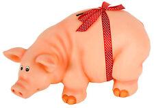 Spardose XXL - Riesen Sparschwein mit roter Schleife - Spar Büchse Dose Schwein