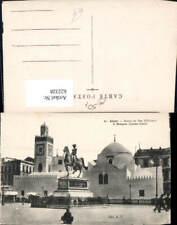 622328,Alger Algier Statue du Duc d Orleans et Mosque Djemaa-Djedid Algeria