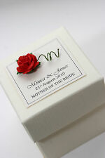 1 x Handmade Personalised ROSE Favour Boxes - Any Quantity Any Design