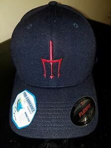 HSC-9 TRIDENTS PRO-FORMANCE FLEX FIT BALL CAP IN THE SIZE SM/M
