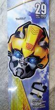 """X-Kites Deluxe Face Kite 29"""" Transformers Bumblebee Kite - New!"""
