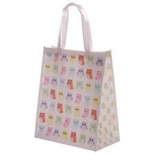 Cute Owl Reusable Womens Ladies Shopping Large Tote Bag Travel Shopper NWBAG05