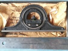 Brown and Sharpe Protractor Head 599-9438-3109-1 W/ Level USA