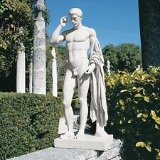 New listing Ancient Roman Handsome Marcellus Nude Male Home Garden Statue