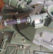 G I Joe Custom Machine Gun Tip 3D print fits the 1980s Mobat Tank mold turret