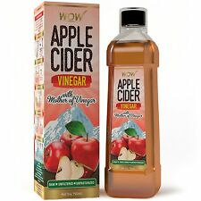 WOW Raw Apple Cider Vinegar - 750 ml - with strand of mother - Not from concentr