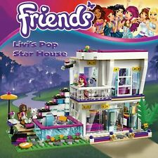 LEZI Friends Livi's Pop Star House Self-Locking Building Blocks LEGO-Compatible