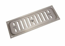 NEW 12 qty Stainless Steel Hit And Miss Louvre Vent Ventilation Cover 9 X 3 Inch