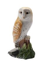 John Beswick Miniature Barn Owl Bird Figurine  NEW in BOX - JBMB1