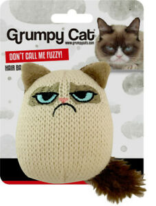 Rosewood Design-New Grumpy Knit Pouncey Cat Toy Buddy Soft Touch Play 51351