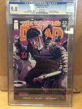 THE WALKING DEAD BY KIRKMAN #32 CGC 9.8 HOT! FREE SHIPPING!
