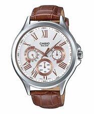 Casio Genuine Leather Band Men's Quartz (Battery) Watches