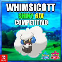 Whimsicott 🔥 Ultra Shiny 🔥 competitivo Pokémon ⚔ Sword & Shield ⚔ ✨! 6IV!