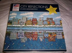 "City Reflections 1000 Piece Puzzle 20"" x 27"""